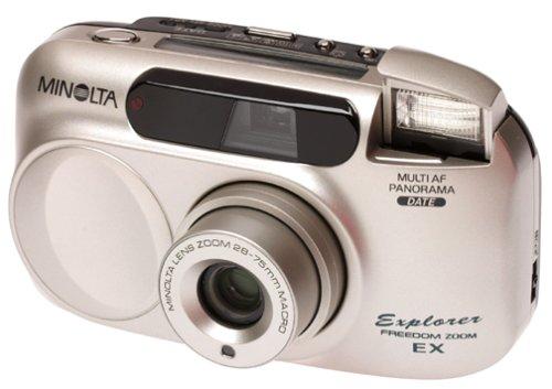 Why Choose Minolta Freedom Explorer EX Panorama 28-75 Zoom Date 35mm Camera