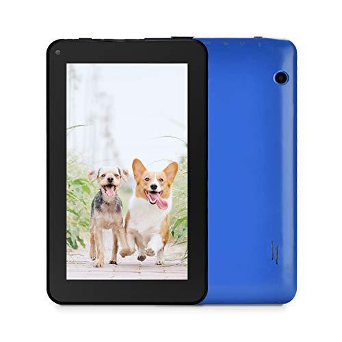 Haehne 7 Pollici Tablet PC - Google Android 6.0 Quad Core, 1GB RAM 16GB ROM, WiFi, Bluetooth, Blu