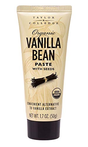 Taylor & Colledge Organic Vanilla Bean Paste