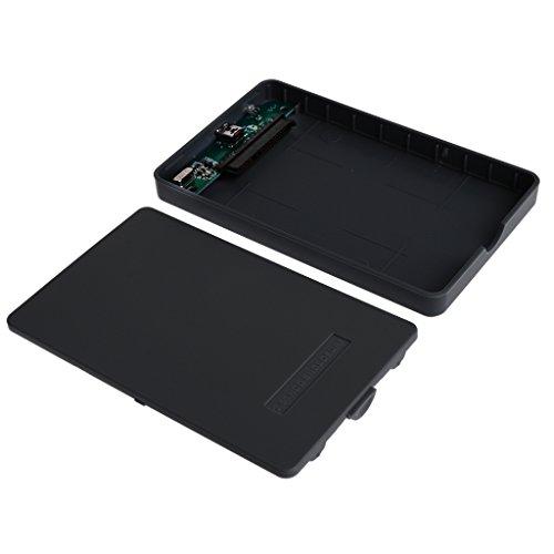 Laptop SATA Hard Drive to 2.5'' USB2.0 External HDD Case - Black, as described