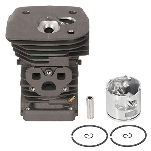 ECCPP 47mm Cylinder Head Piston Kit fit for Husqvarna 455 Rancher 455E 460 Husky Chainsaw Replaces 537 32 04 02 Piston Pin Rings Circlip Chainsaw Parts New