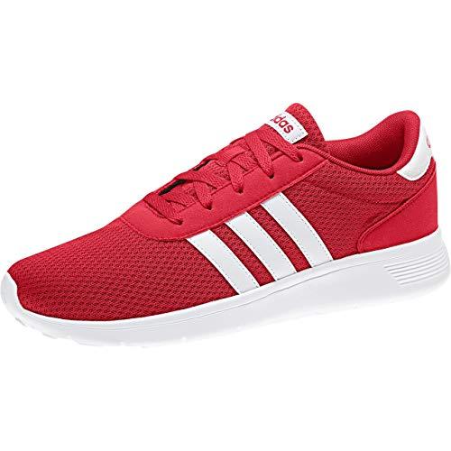 adidas Herren Lite Racer Fitnessschuhe, Rot (Escarl/Ftwbla/Escarl 000), 38 2/3 EU