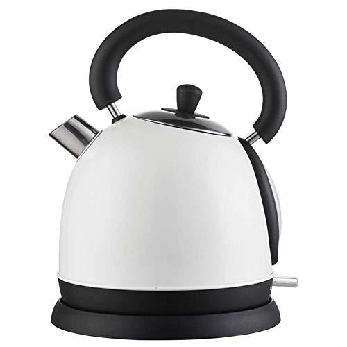 GYC Home Wasserkocher aus Edelstahl, Krug 1,8 Liter, schnell kochend und leicht zu reinigen, ideal für heißes Wasser, Tee oder Kaffee - 1500W