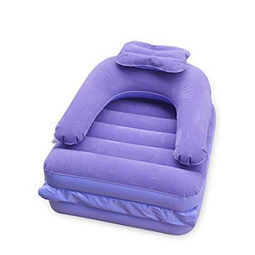DONG Cama Multifuncional rápida Saco de Dormir Inflable Camping Lazy Cama Multifuncional Lay Laybag Titular Tumbona Campo de la Silla,Automóvil Club británico