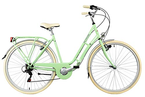 KS Cycling Damenfahrrad Cityrad 28\'\' Casino grün 6Gänge RH53cm