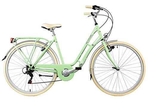 KS Cycling Damenfahrrad Cityrad 28'' Casino grün 6Gänge RH53cm