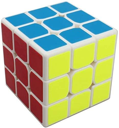 RENFEIYUAN Nuevo Profesional 3x3x3 MA Weilong □ Rubik Cubo (Color : White)