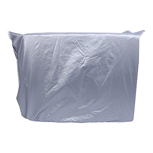 RBSD Copri Climatizzatore Quadrato, Copri Climatizzatore Antisole per Casa per Condizionatori unità Esterna per Scuola Alberghiera per Proteggere Il Condizionatore(3p)