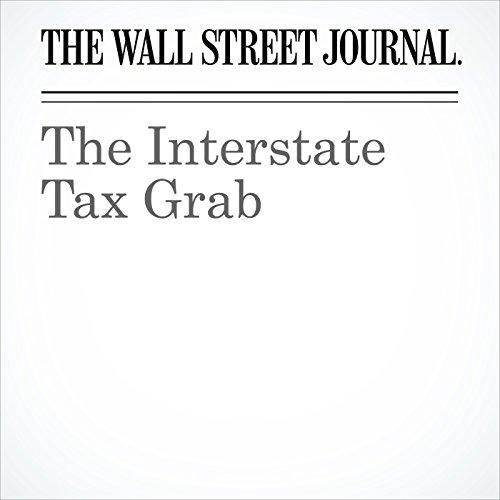 The Interstate Tax Grab copertina
