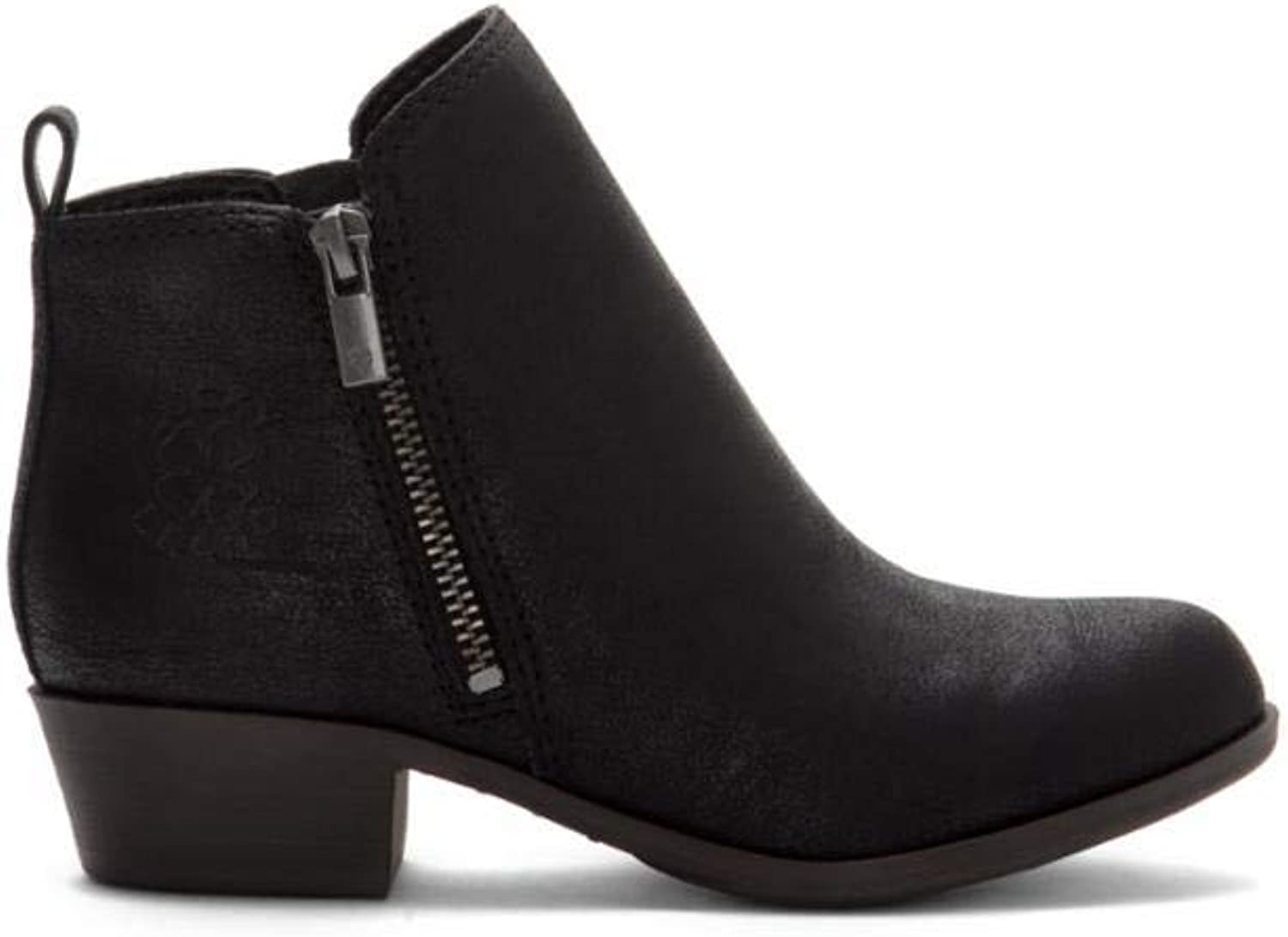Lucky Brand Kids Women's Brona Black Castle Pu 13C M US