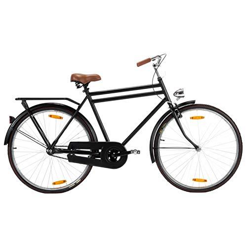 pedkit Bicicleta Holandesa de 28' para Hombre Bicicleta Urbana Bicicleta de Paseo