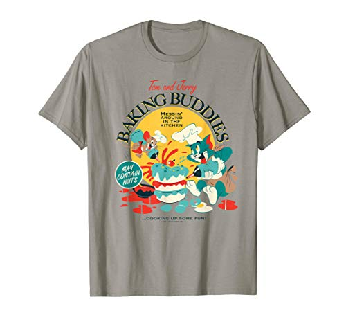 Tom and Jerry Baking Buddies T-Shirt