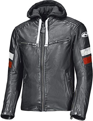 Held Motorradjacke mit Protektoren Motorrad Jacke Macs Lederjacke schwarz/weiß 54, Herren, Chopper/Cruiser, Ganzjährig