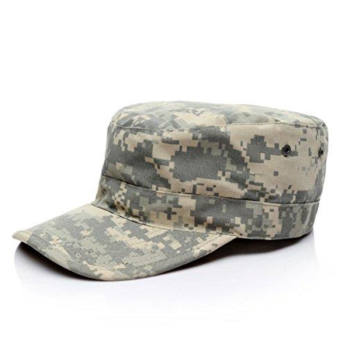 ECYC Unisexe Camo Casual Airsoft Paintball Casquettes De Baseball, Hommes ArméE Camouflage Soldat Combat Tactique Chapeau