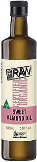 EBO EBO Raw Organic Sweet Almond Oil 500 ml