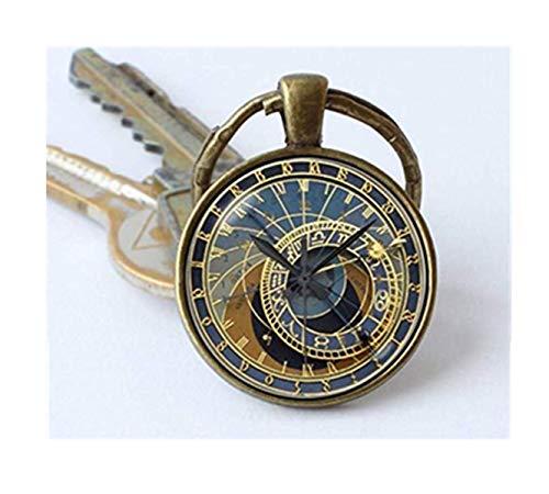 we are Forever family Llavero de reloj, llavero de reloj, llavero steampunk, joyería de reloj, llavero steampunk, regalo steampunk, reloj antiguo