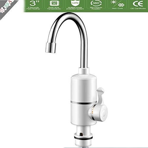 LQH Elektro-Instant-Heizung-Hahn-Hahn for Küche 220V 3000W (Size : 1)