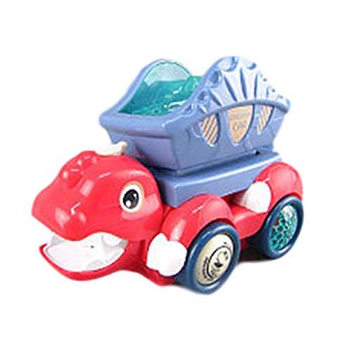 Juguetes de dinosaurios para niños, camión de ingeniería