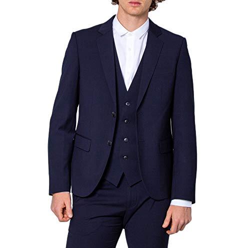 Antony Morato Giacca Uomo Slim Bonnie mmja00433 50 (l) Blu
