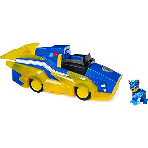 PAW Patrol 6055932 Chases Mighty Pups Charged Up Deluxe Verwandlungs-Fahrzeug