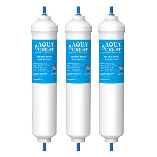 AquaCrest AQF-DA29-10105J-3 Wasserfilter, Carbon Block, 1500 gallons