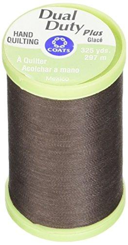 Coats Thread & Zippers Dual Duty Plus - Hilo acolchado a mano, 325 yardas, color marrón