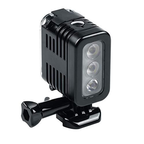 #N/V 30 metros subacuáticos sumergibles LED de buceo impermeable luz foco lámpara para GoPro Hero 5 4 3+ 3 cámaras deportivas