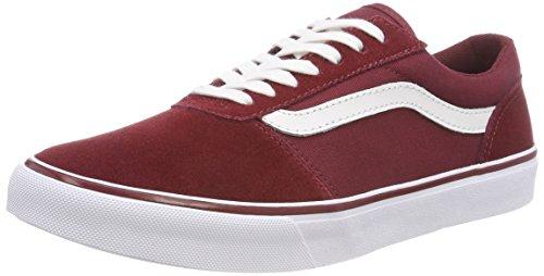 Vans Maddie, Zapatillas para Mujer, Rojo ((Suede/Canvas) Cabernet R6y), 42 EU