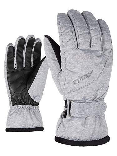 Ziener Damen KILENI PR lady glove Ski-handschuhe/Wintersport, light melange, 7