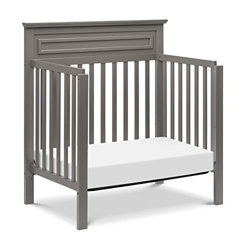 Greenguard Gold Certified DaVinci Autumn 4-in-1 Convertible Mini Crib in Chestnut