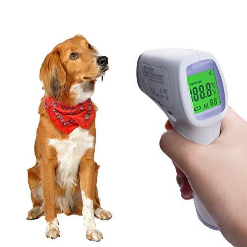 ZZQ Pantalla Digital de Alta precisión doméstico electrónico termómetro termómetro termómetro infrarrojo Animal