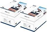 inapa Drucker-/Kopierpapier tecno Speed: 80 g/qm², A4, weiß, 5000 Blatt (2x Karton mit je 2500 Blatt) - schnell und staufrei drucken