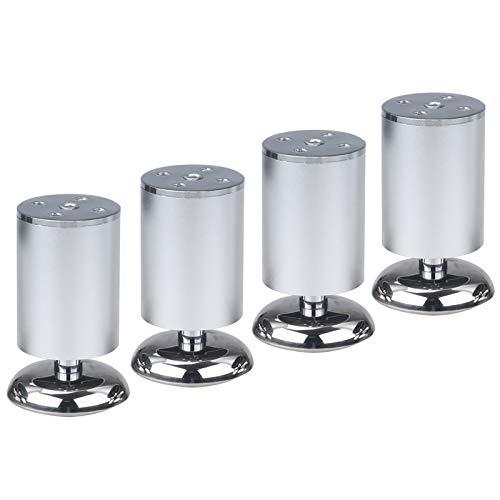 ZZXY 4 Piezas Patas para Muebles,Patas para Muebles aleación de Aluminio Cocina para Muebles sofás sillas armarios Repuesto de pies