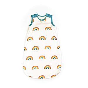 Mama Designs Babasac – Saco de dormir para bebé (varios tog, 1,0 y 2,5 tog, 18 a 36 meses, diseño de arcoíris