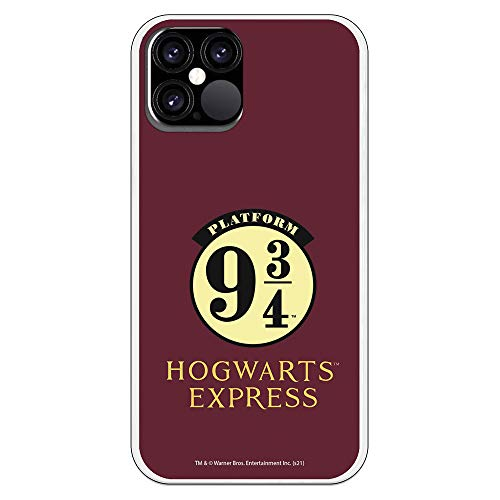 Funda para iPhone 12-12 Pro - Harry Potter Oficial. Carcasa móvil Harry Potter, Películas, Frikis (Harry Potter Hogwarts Express)