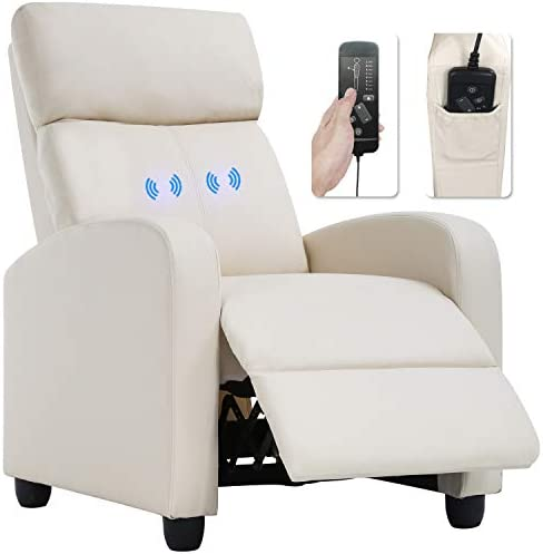 Best Recliner Chair for Living Room Massage Recliner Sofa Reading Chair Winback Single Sofa Home Theater
