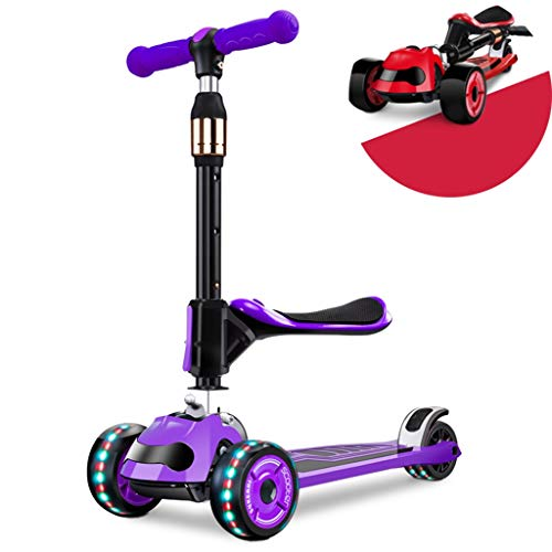 Best Buy! Scooters Self Balancing Ride-Proof Shock-Resistant Children's Skateboard 2-16 Year Old Chi...
