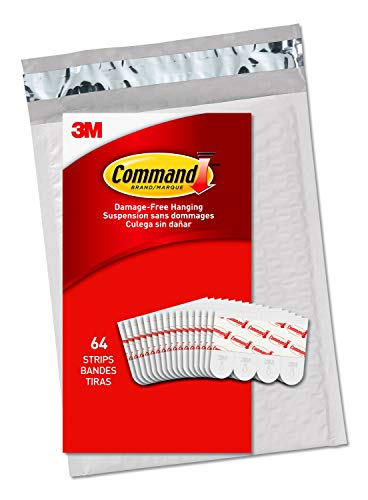 Command Refill Strips, Small (GP022-64NA)