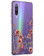 Oihxse Mandala Flores Encaje Patrón Serie Case Compatible con Huawei Honor 9X/9XPro Funda TPU Silicona Suave Protector Ultra Slim Anti-Rasguño Transparente Carcasa (A12)