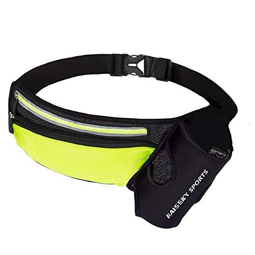 Courir Marathon Taille Sac De Sport Escalade Randonnée Racing Gym Fitness Lightweight Hydratation Ceinture Bouteille D'eau Hip Waist Pack (Color : B Only Bag)