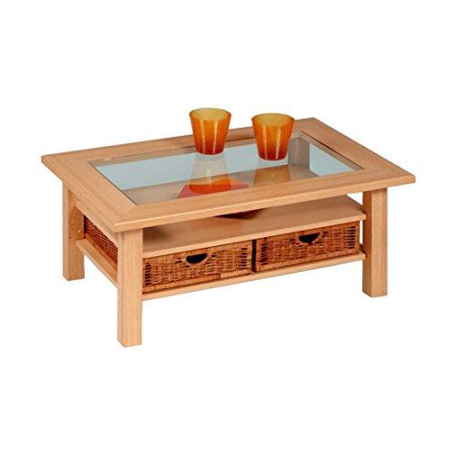 Alfa-Tische Couchtisch, Buche, Natur