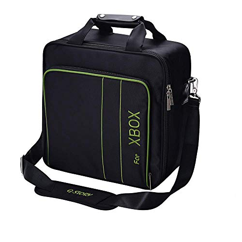 G-STORY Case Storage Bag for Xbox Series X Series S Console Carrying Case, Travel Bag for Xbox Controllers Xbox Games and More Gaming Accessories, Included Silicone Cover Skin Protector