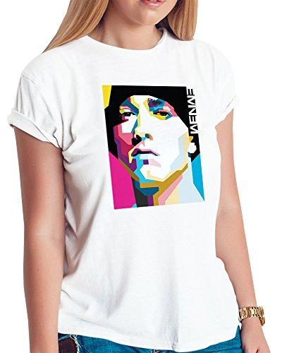Eminem Tshirt - Eminem Shirt - 1 - Hip Hop Legend Rappers - Eminem Revival - Eminem t Shirt - Unisex (Large) White