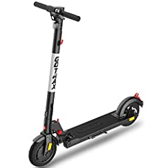 SUPERIOR PERFORMANCE - Features a 300W motor, boosting the e-scooter to a max speed of 15.5 MPH. 280.8Wh high capacity battery can achieve Max 18.6 Miles travel range under specific conditions. Easily view current speed and battery life on the LED di...