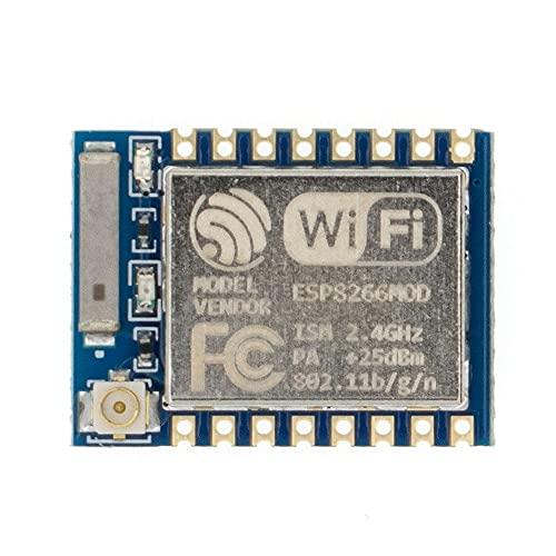LILICEN LYJ ESP8266 ESP-01 ESP-01S ESP-07 ESP-12E ESP-12F Puerto de Serie Remoto WiFi Módulo inalámbrico Adaptador de Sistema de Vivienda Inteligente 2.4G (Color : ESP 07)