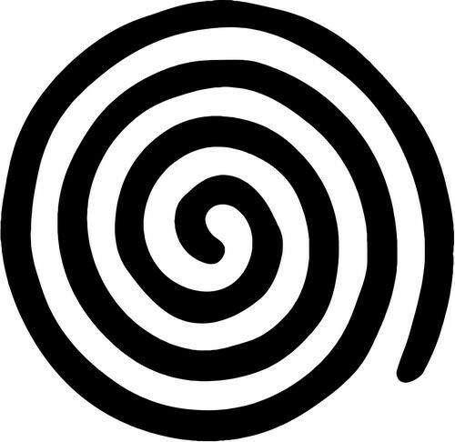 storevn_012019 (Size 5' - (Color White)_Celtic Spiral Egyptian_Vinyl Decal Sticker Car Truck Vehicle Bumper Window Wall Decor Helmet Motorcycle, iPhone, Ipad, Windows.