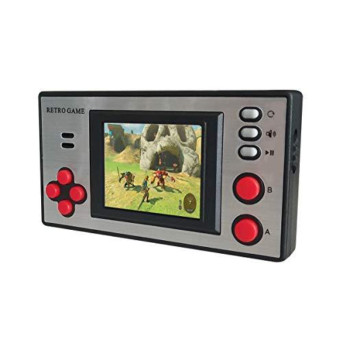 Console de jeu portable NBCP, lecteur de console de jeu vidéo rétro mini enfants avec 150 jeux FC classiques écran LCD portable protégé des yeux, meilleur cadeau pour les enfants anniversaire Noël