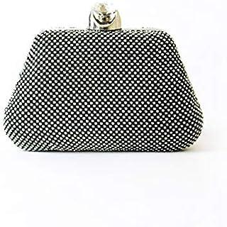 Lenz Wristlets Bag For Women, Black, AM19-B118