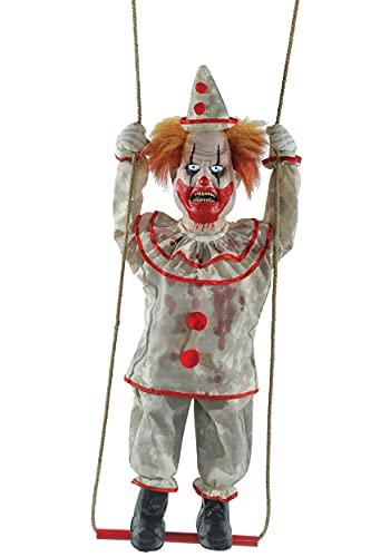 Morris Costumes Animated Swinging Happy Clown Doll Standard