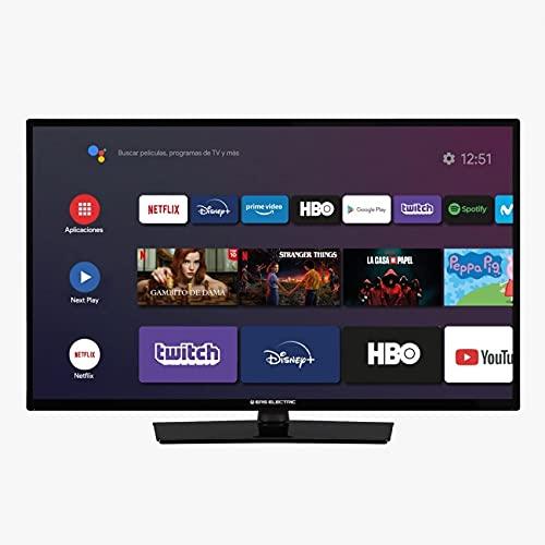 EAS Electric   E24AN70   Televisor Negro   Televisión 24 Pulgadas   Smart TV   LED (ELED)   HD Ready 1366 x 768 16:9   DVB-T T2 C S S2 HEVC   WiFi   Android TV   Google Cast   USB 2   HDMI 3